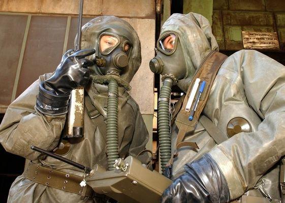 Войска химзащиты введены на территорию птицефабрики в Костромской области